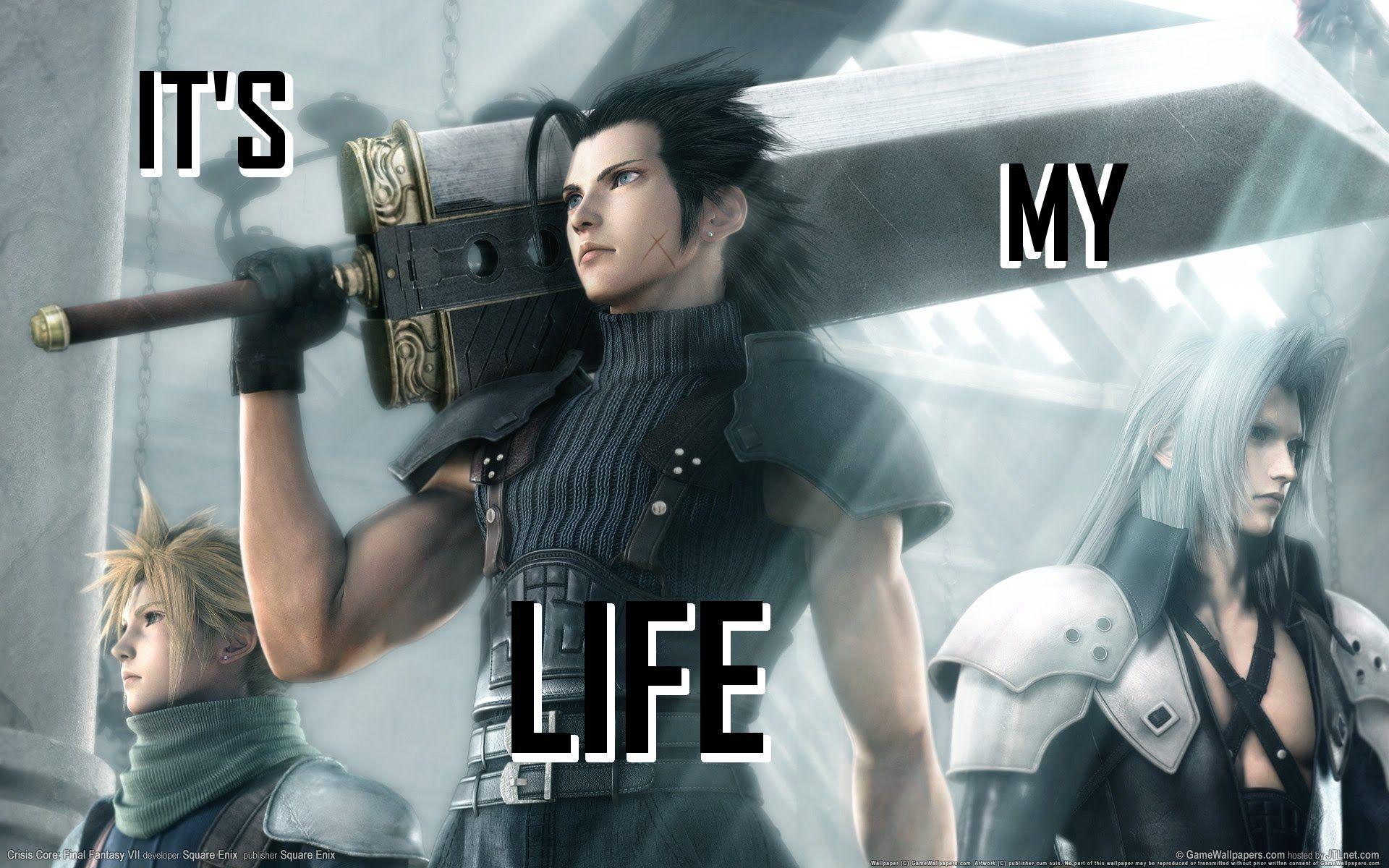 Final Fantasy 7 It's my Life AMV ( Anime Music Video