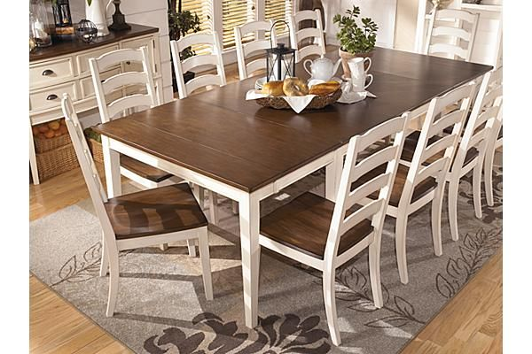 The Whitesburg Dining Room Table From Ashley Furniture Homestore