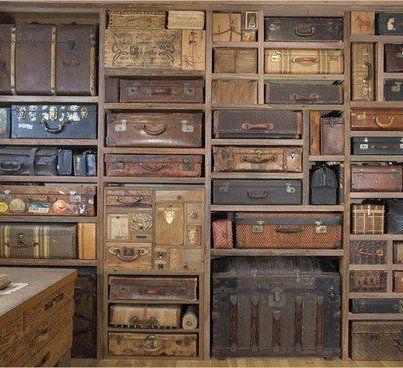 precioso baules y valijas