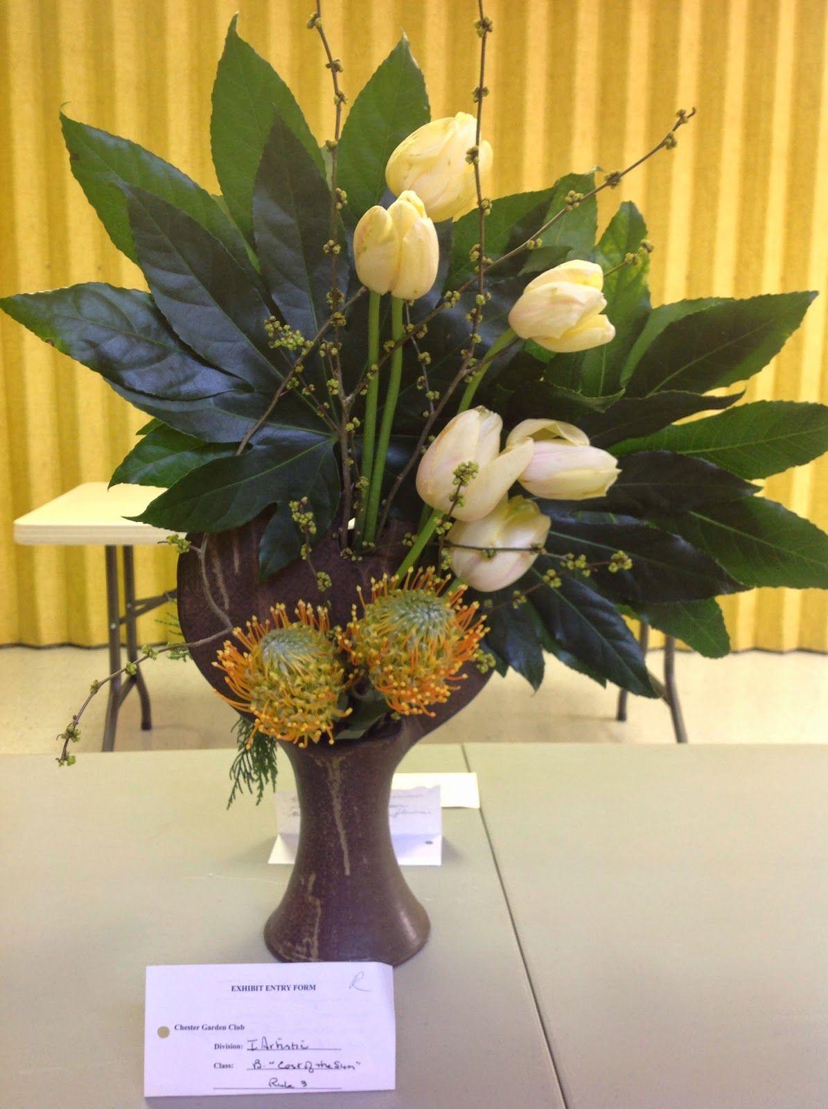 new garden club journal a duo floral design flower arrangement