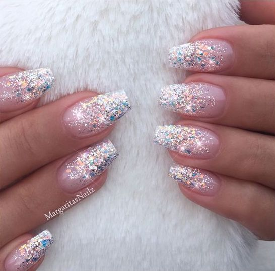 55 Stylish Nail Designs For New Year 2020 New Year S Equals