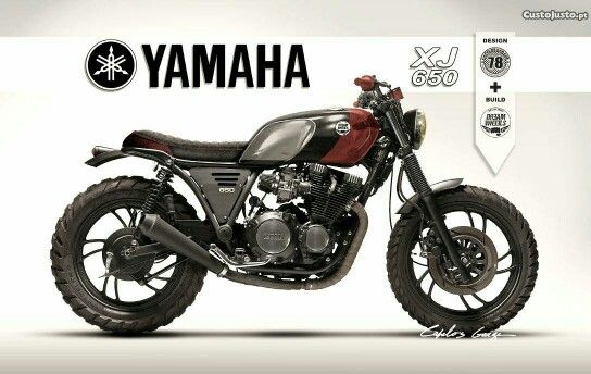 yamaha xj 650 motobike scrambler motorcycle yamaha. Black Bedroom Furniture Sets. Home Design Ideas