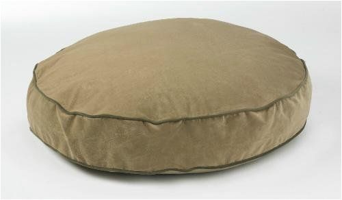 Bowsers Super Soft Round Dog Bed Round Small Microvelvet Cashew 28'x5' *** For more information, visit now : Pet dog bedding