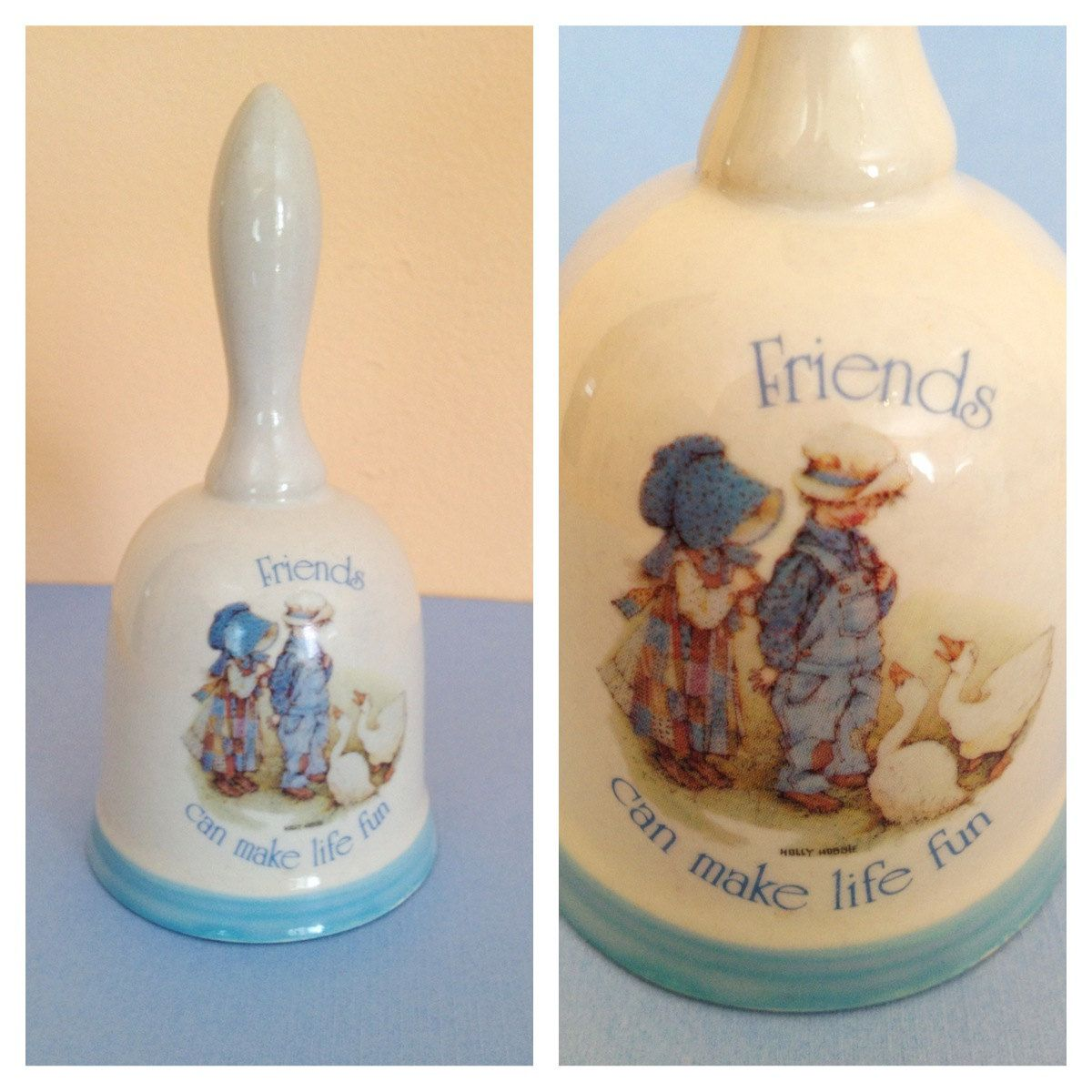 Vintage holly hobbie ceramic bell collectible friendship girls vintage holly hobbie ceramic bell collectible friendship girls children duck reviewsmspy