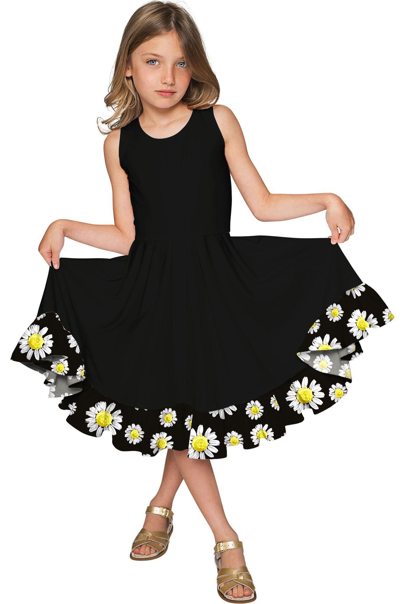 3ee11de424e2 Little Oopsy Daisy Vizcaya Fit   Flare Dress - Girls