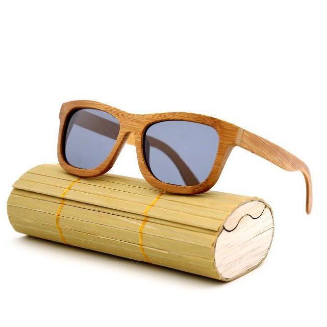 e8301b45b01c4 Gray Bamboo Sunglasses Retro Vintage. Quadros ArtesanaisÓculos De Sol De  MadeiraÓculos ...
