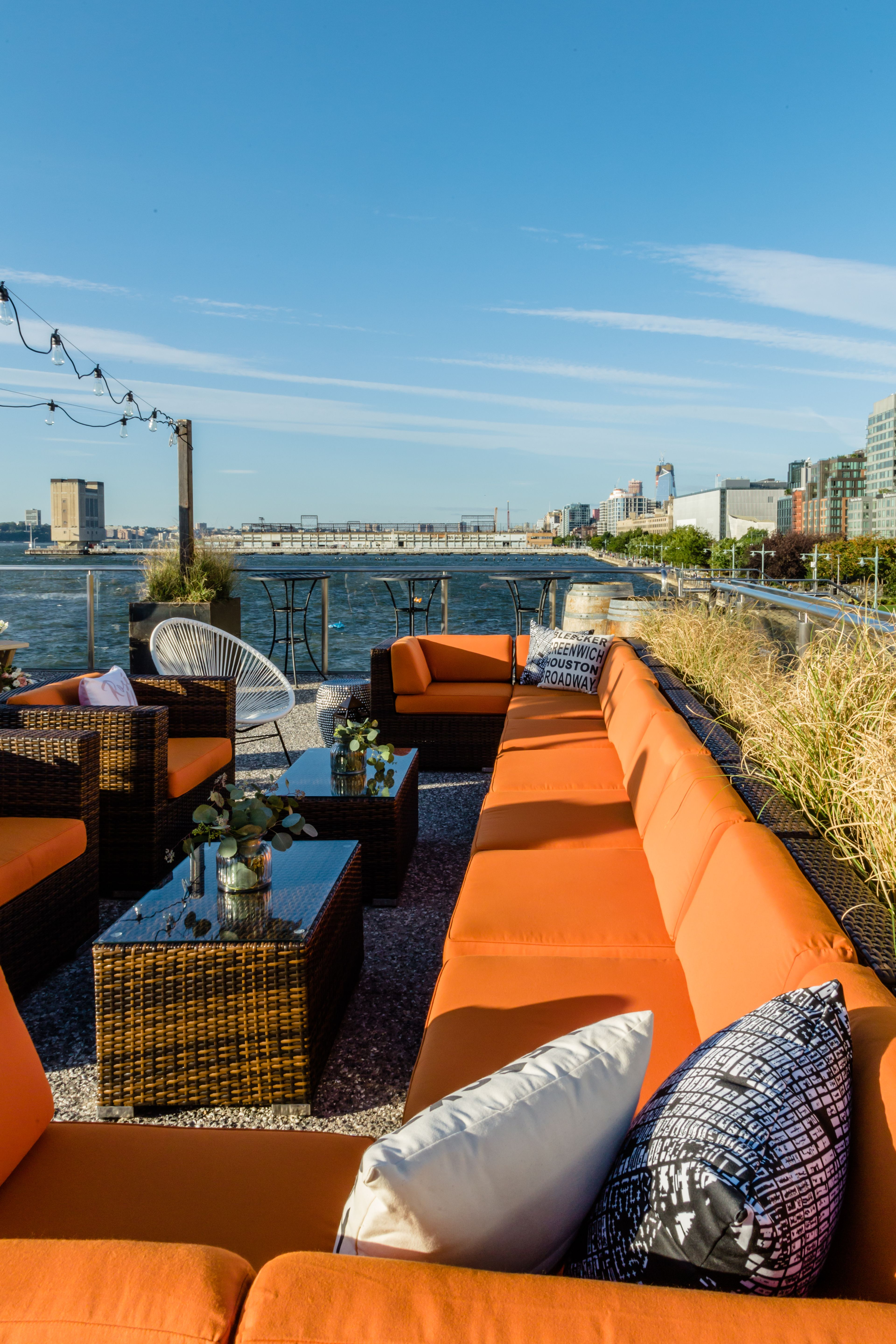 Tips To Make Your Rooftop Summer Ready Head Over To The Link To Read More Wayfairprofessional Rooftopdecor Rooftop Dining Outdoor Seating Set Rooftop Decor