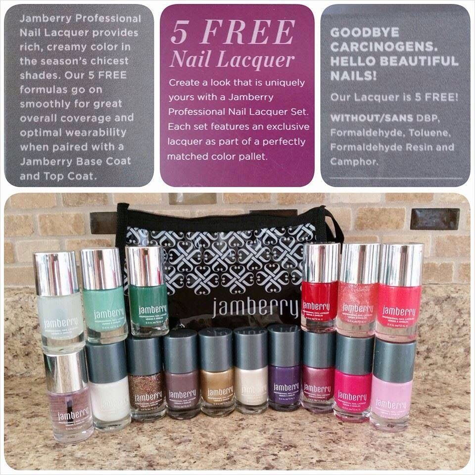 Jamberry nail lacquers. Just like the wraps, they are non toxic and ...