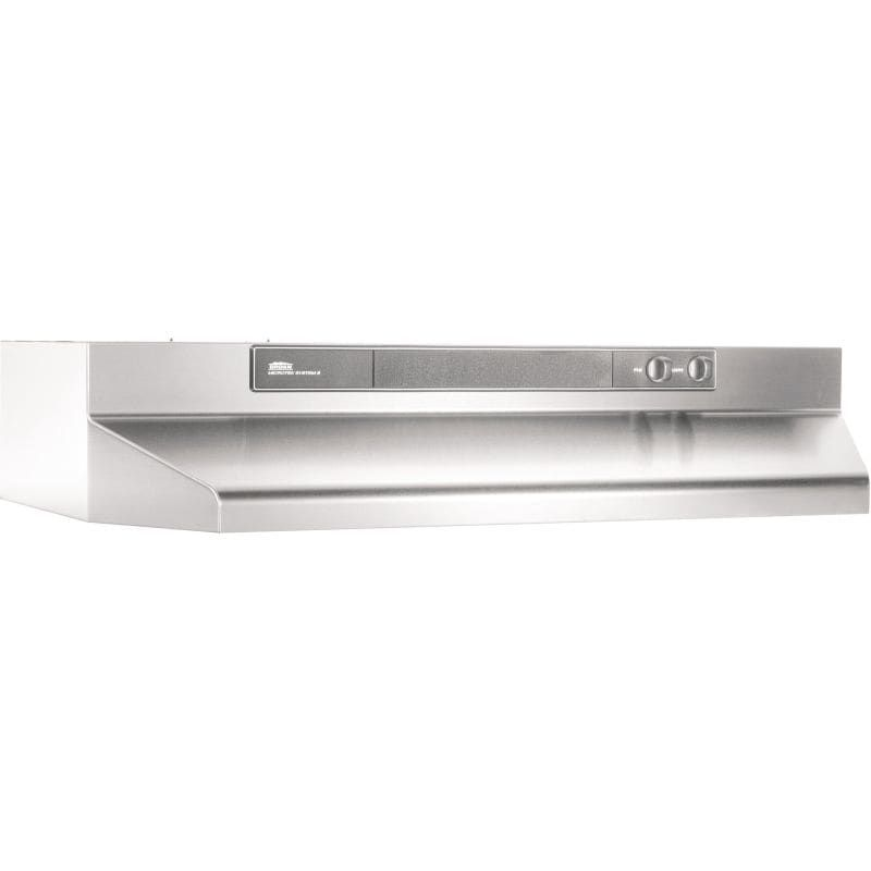 Broan 4624 Stainless Steel Range Hood Stainless Range Hood Under Cabinet