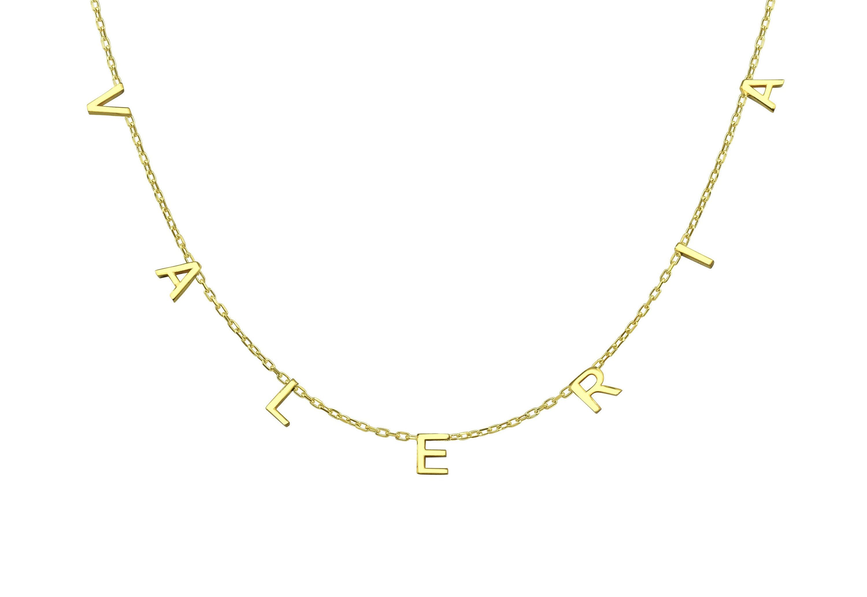 Bridesmaid Gift Personalized Gift-Bridesmaid Gift Gold Name Bracelets Personalized Name Bracelet-Old English Name Bracelet-Name Bracelet