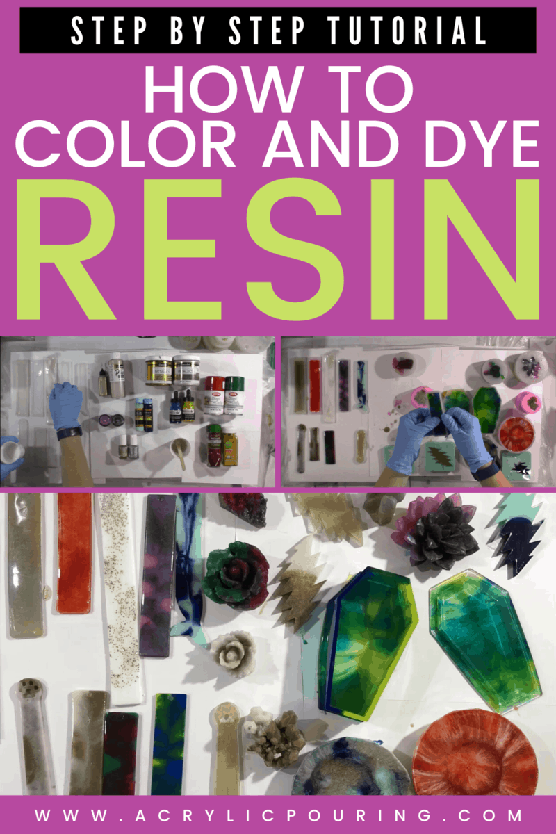 Resin pour is one the techniques in acrylic pouring you can use to create beautiful artworks. Learn the step by step tutorial to help your understand all about resin and become an expert so you can make uniquely made acrylic pouring resin artworks. #acrylicpouring #resinpour #pouringtutorial #techniques