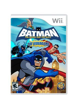Amazon Com Batman The Brave And The Bold Nintendo Wii Video