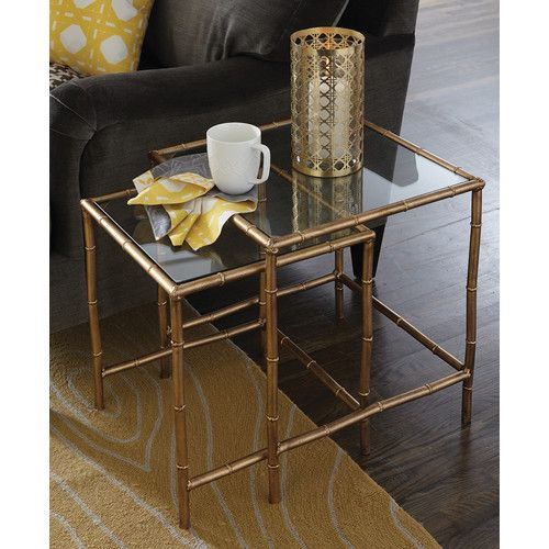 Found It At Wayfair 2 Piece Nesting Tables Nesting End Tables