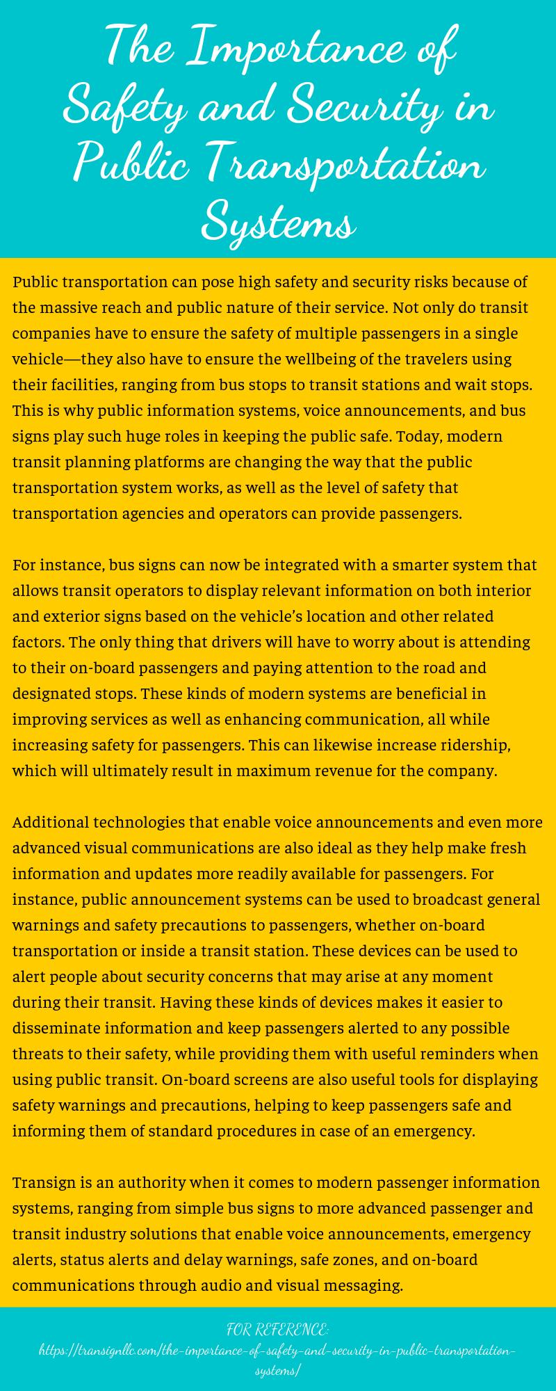 Role of Voice Announcements in Public Transportation
