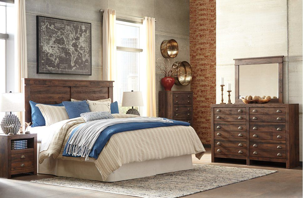 Rustic Bedroom Design Photo by Darby Home Co Traditional