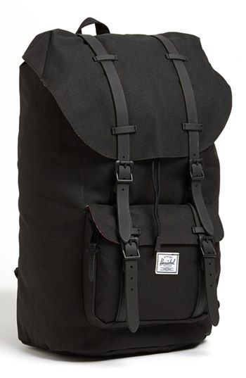 4779951bde2 Grey w  Yellow straps. For when I go to Europe!... one day! Herschel Supply  Co.  Little America  Backpack available at  Nordstrom
