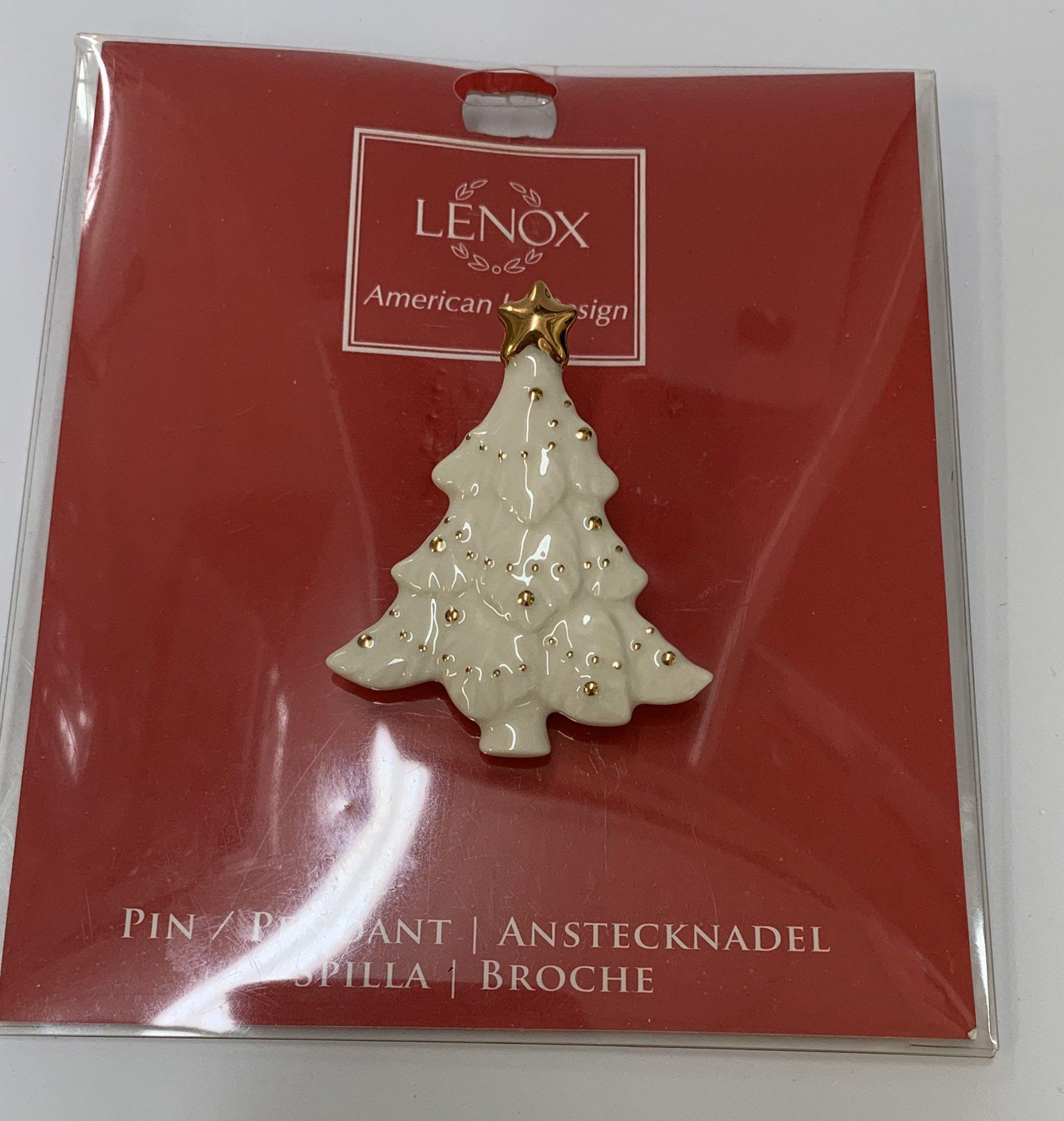 Lenox American By Design Christmas Tree Pin Etsy In 2020 Christmas Tree Christmas Lenox
