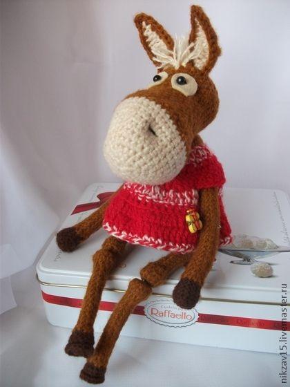 Crochet Horse - Amigurumi - Crochet Toy