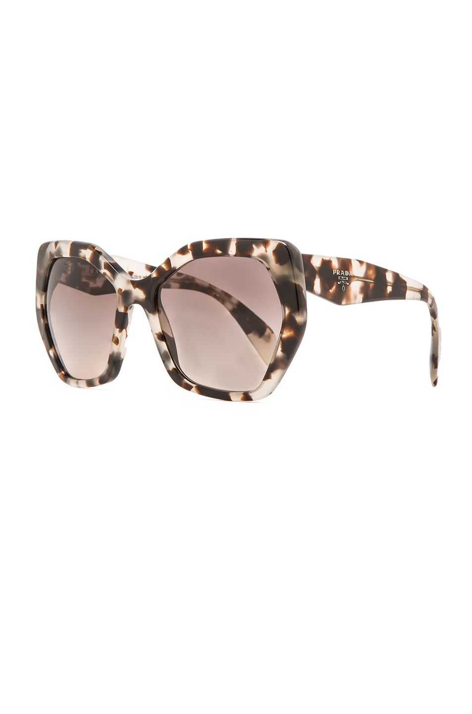 5105e7841fed Prada | Brown Heritage Sunglasses | Lyst | Gifts: The Edit in 2019 ...