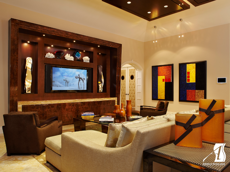 Tv Room Designs Aventura Interior Design Amp Home