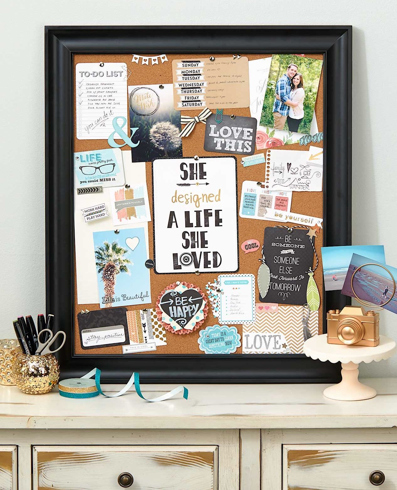 Lovely Home Design Vision Board Part - 14: How To Make The Perfect Vision Board-- Pictures Of Inspiration, Quotes, A  To-do List. Simply Perfect. | C R A F T U2022 T I M E ? | Pinterest | Crafty