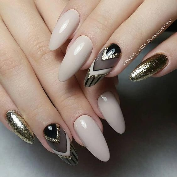 totally classy nail design