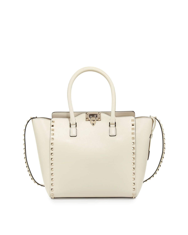 Red Valentino Rockstud Medium Shopper Bag c92e601ee66a9