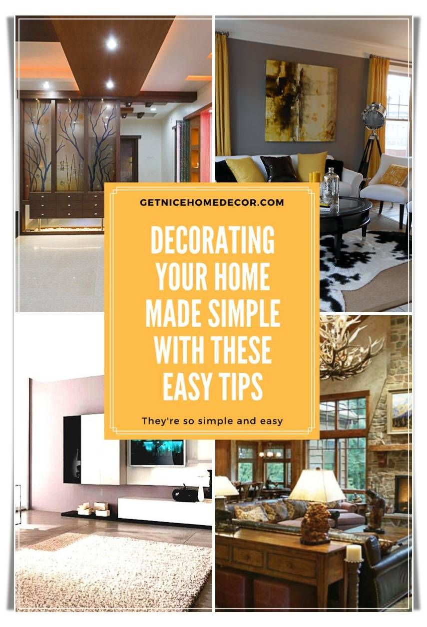 make your interior spaces shine with these quick home decor tips rh pinterest com