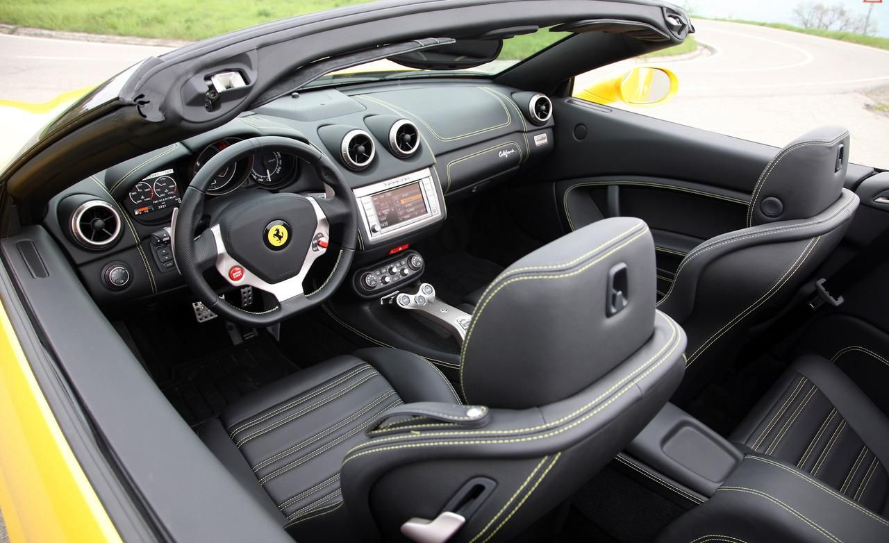 2015 ferrari california t black interior - Buscar con Google ...