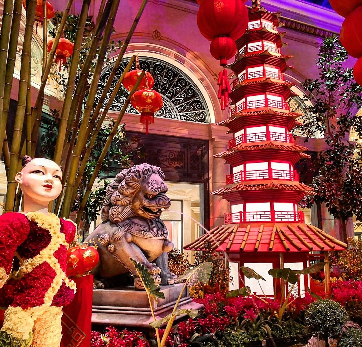 Chinese New Year Celebrations at Las Vegas New year