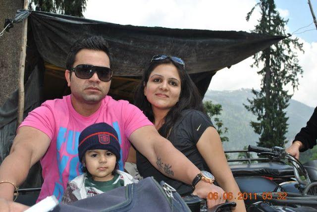 Indian Cricketer Virat Kohli Elder Brother Vikas Kohli With