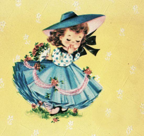 Google Vintage Drawing Vintage Birthday Cards Vintage Greeting Cards