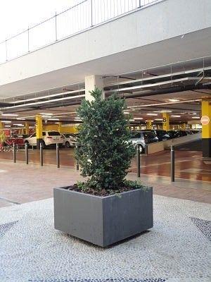 jardineras prefabricadas piedra artificial hormign prefabricado maceteros urbanos macetas grandes - Jardineras De Hormigon