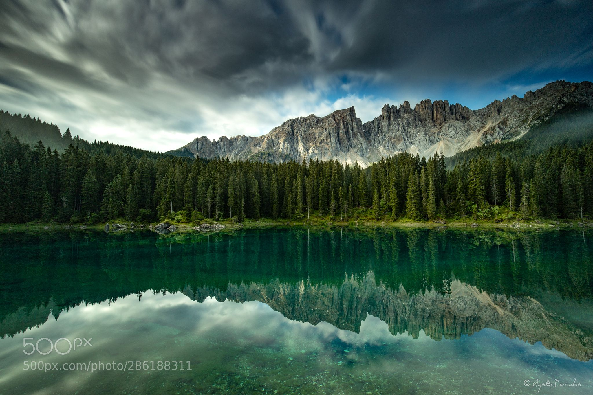 Cloudy Reflexion Landscape Nature Photography Nature