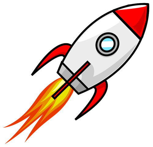Rocket Launching Rocket Drawing Rocket Cartoon Rocket Tattoo