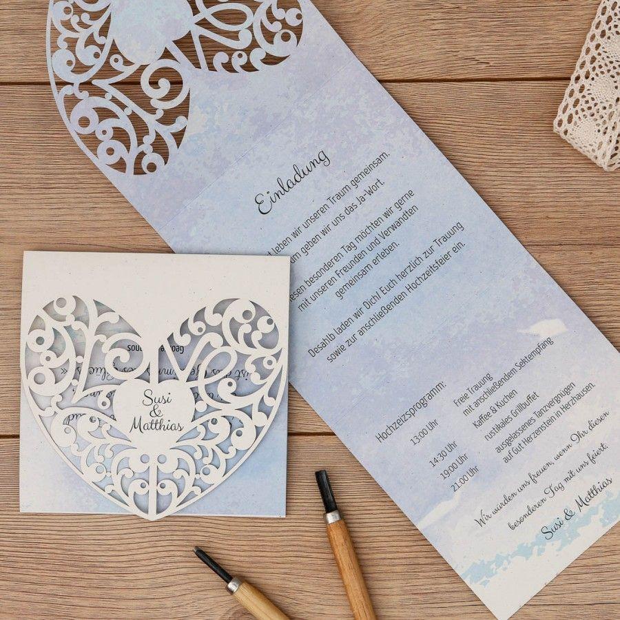 Mabelle Einladung Doppelklappkarte Quadratisch Einladungen Karte Hochzeit Karten