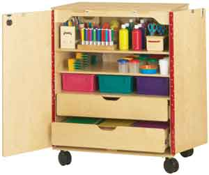 Best Mobile Classroom Supply Cabinet Craft Storage Cabinets 400 x 300