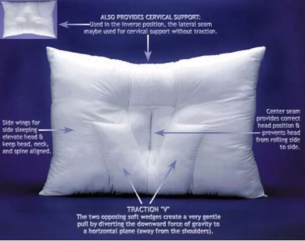 pillow for ergonomic online neck sofa side angeles ns best los support details buy ca