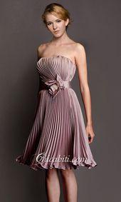 Photo of Evening Dresses Strapless Belt and Flower- Vestiti Da Sera S …