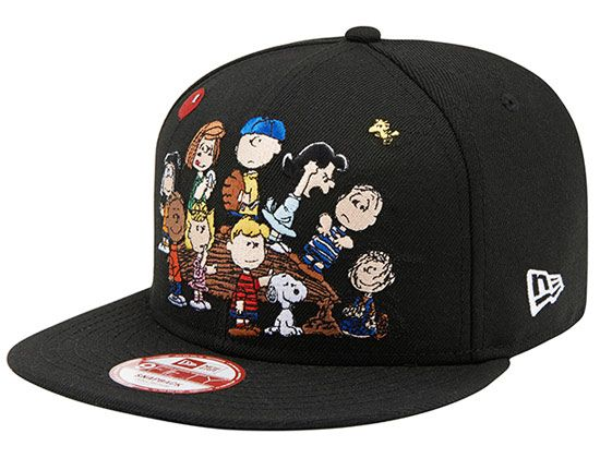 best sneakers 16932 a73eb Peanuts Gang 9Fifty Snapback Cap by NEW ERA x PEANUTS