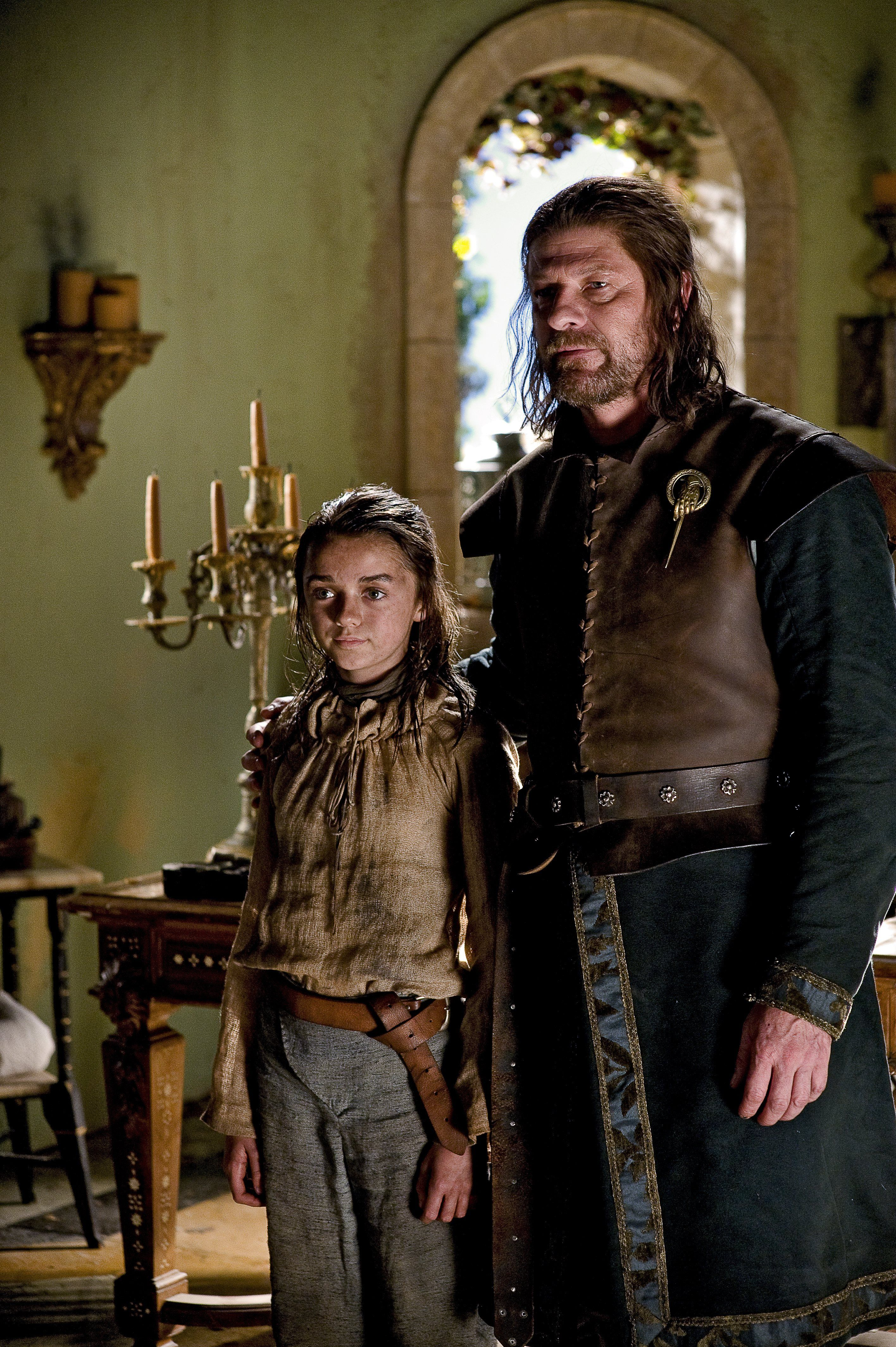 Game Of Thrones Season 1 Episode 5 Still Arya Stark In