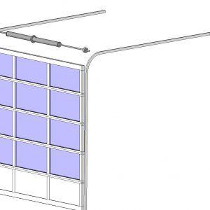 Glass Panel Garage Door Revit
