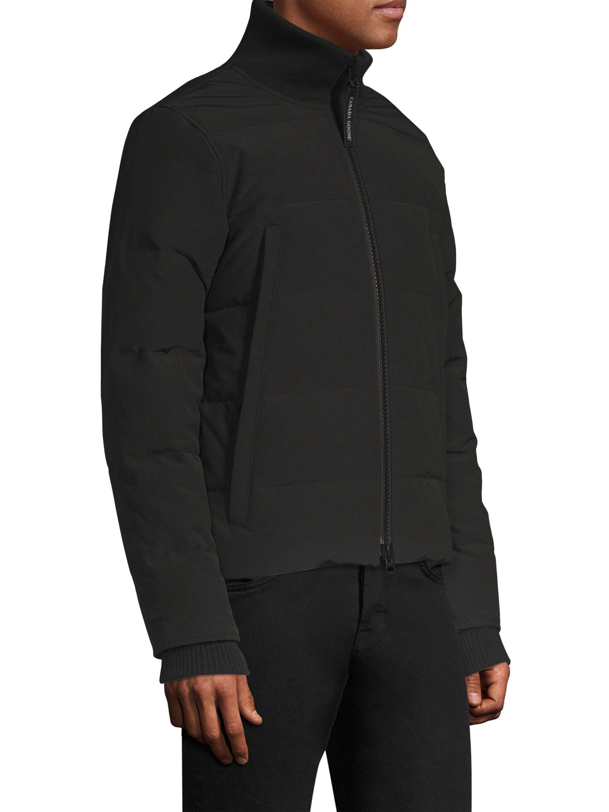 bf4b63833b0 Canada Goose Woolford Down Jacket - Black Small | Products | Jackets ...