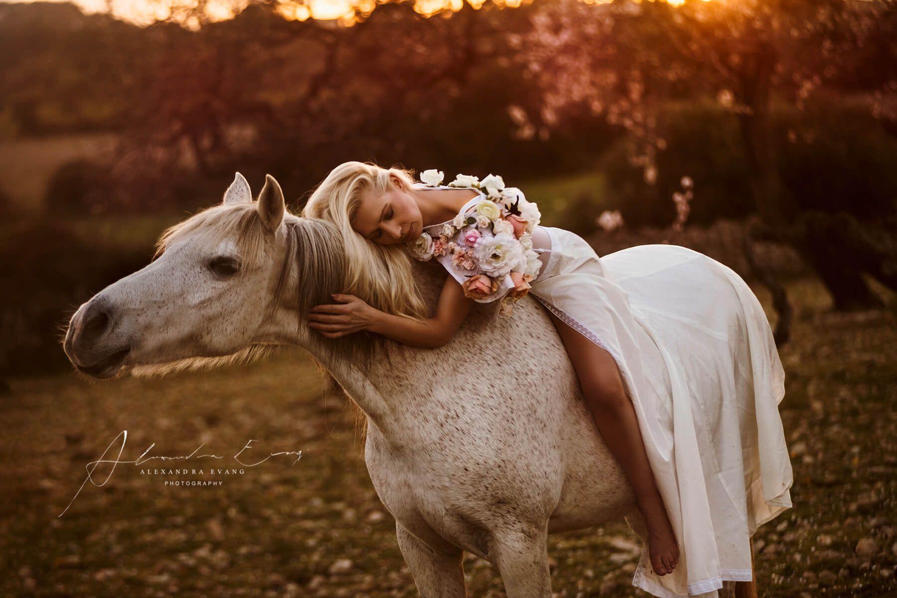 Portfolio - Alexandra Evang Photography | Pferde mädchen