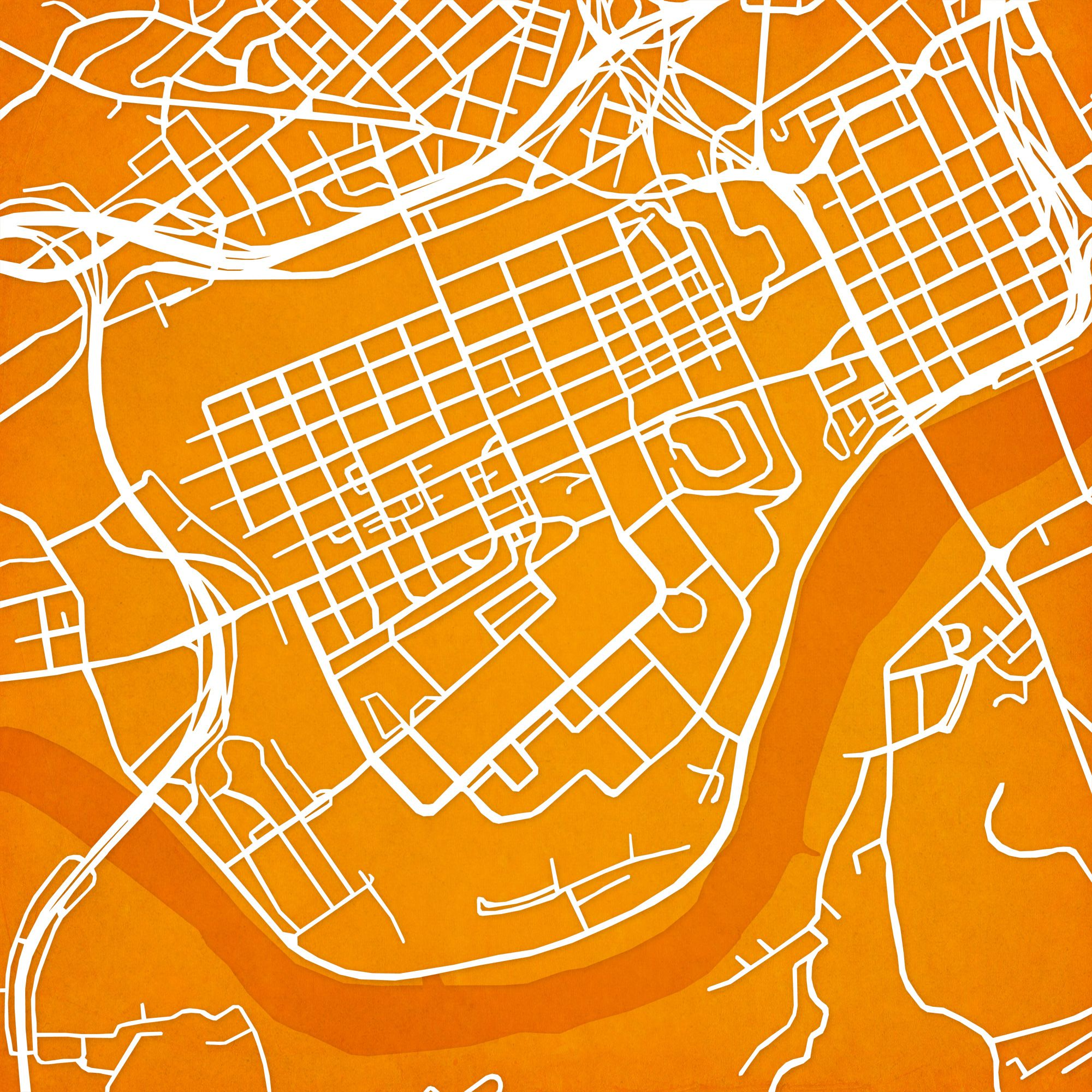 University Of Tennessee Knoxville Campus Map.University Of Tennessee City Prints Map Art Artsy Pinterest