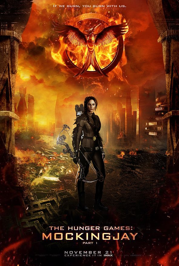 The Movie Mockingjay Pt 1 Katniss Everdeen Reluctantly Becomes