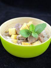 Photo of Coconut / mango duck-Canard coco/mangue  Coconut / mango duc…