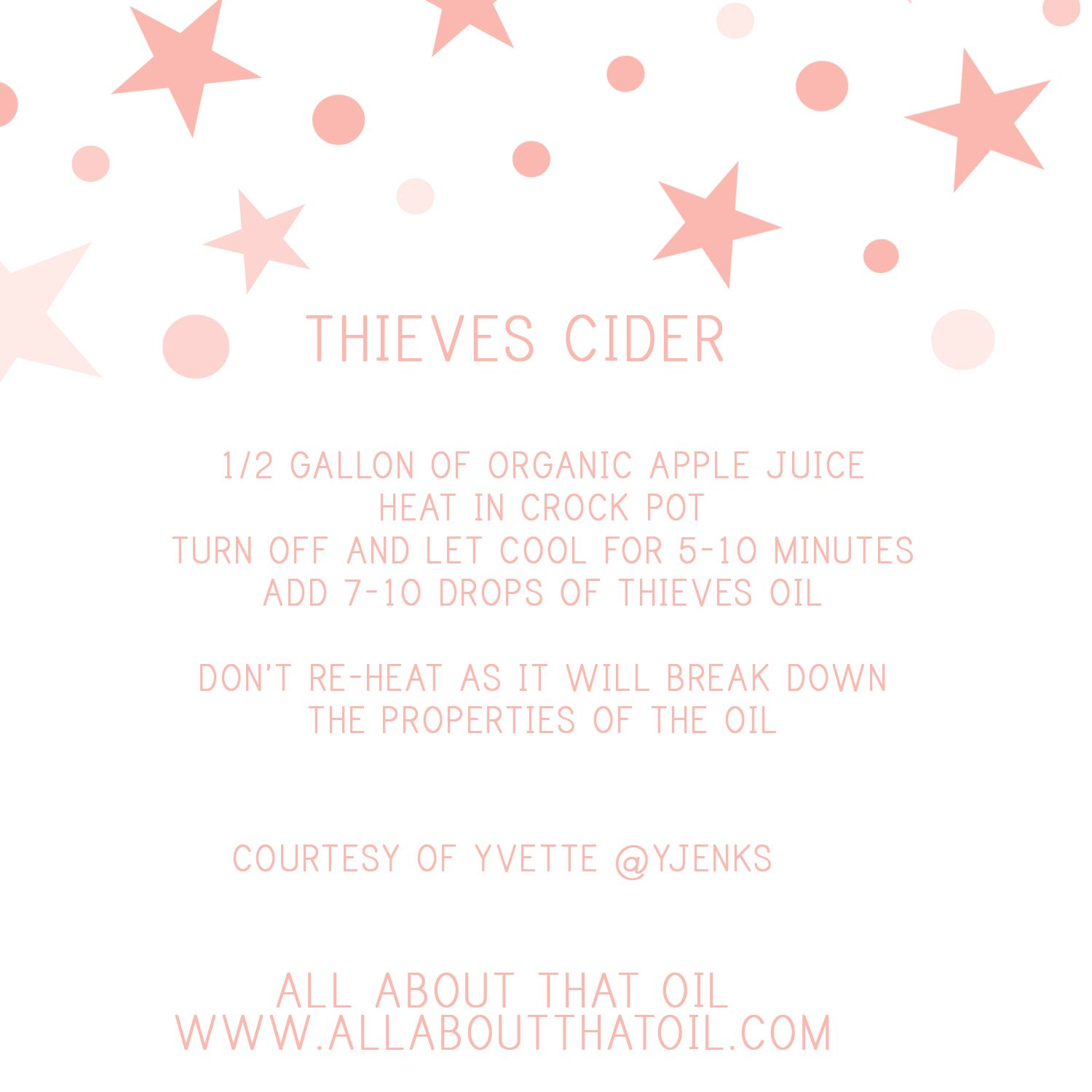 Thieves Apple Cider The All About Guide
