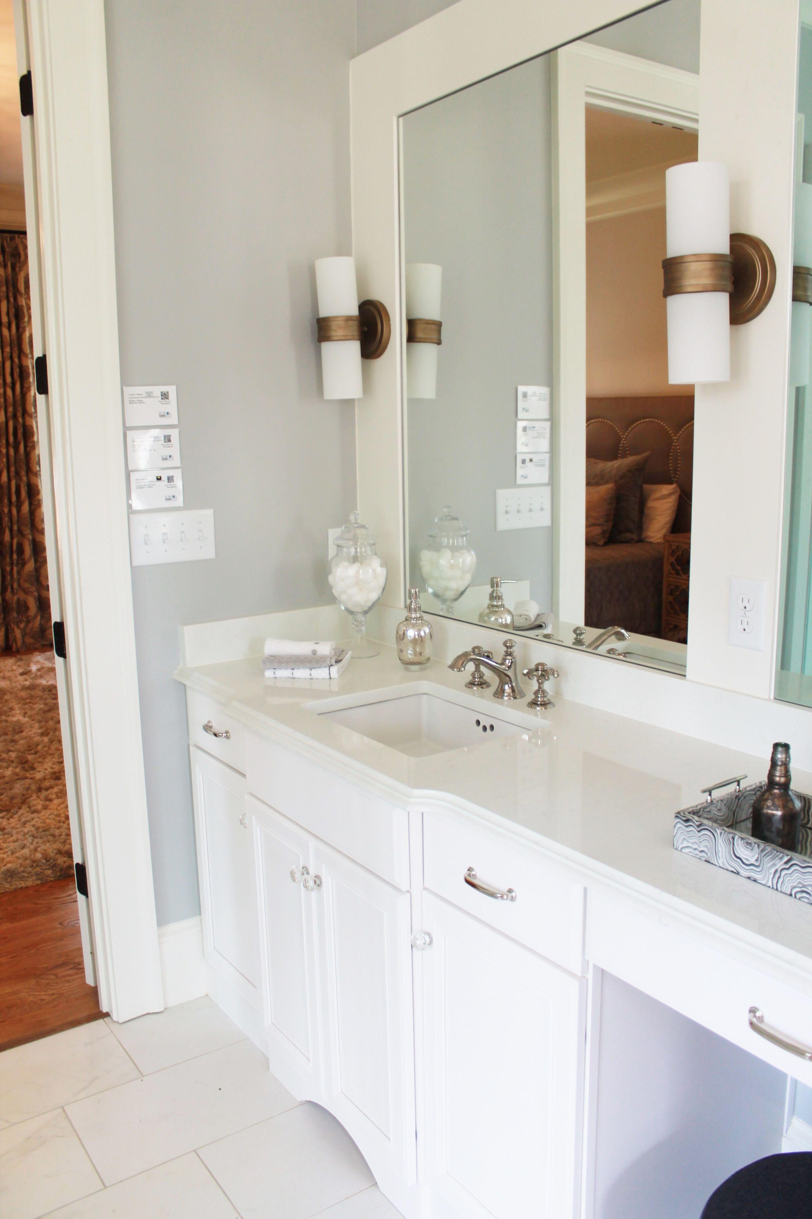 ariel silestone quartz bathroom countertops in 2015 gbahb ideal home installed by surface one of birmingham - Shaker Bathroom 2015