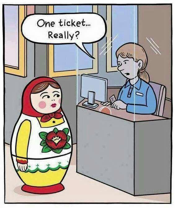 One ticket please | Engraçado. Memes engraçados. Imagens engraçadas
